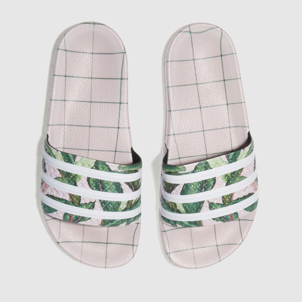 Adidas Pale Pink Adilette Farm Sandals