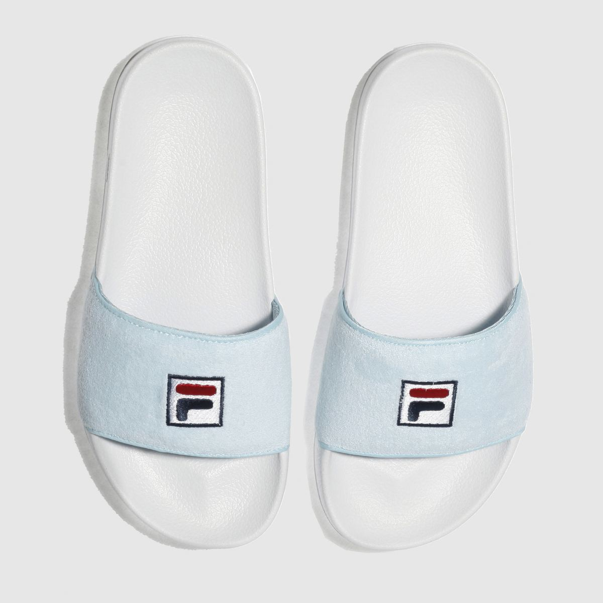 Fila Pale Blue Drifter Terry Sandals