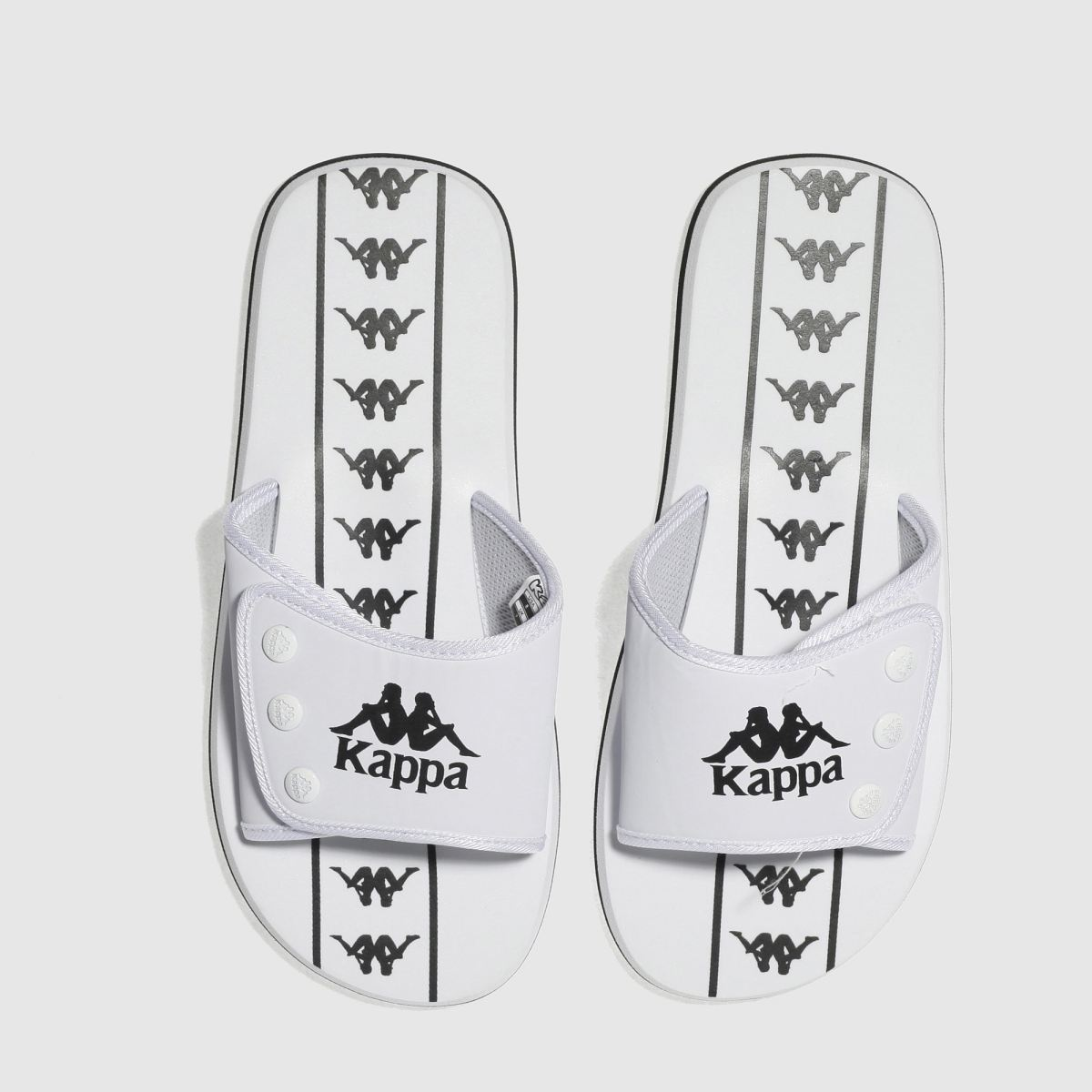 Kappa White Lapush 2 Authentic Sandals