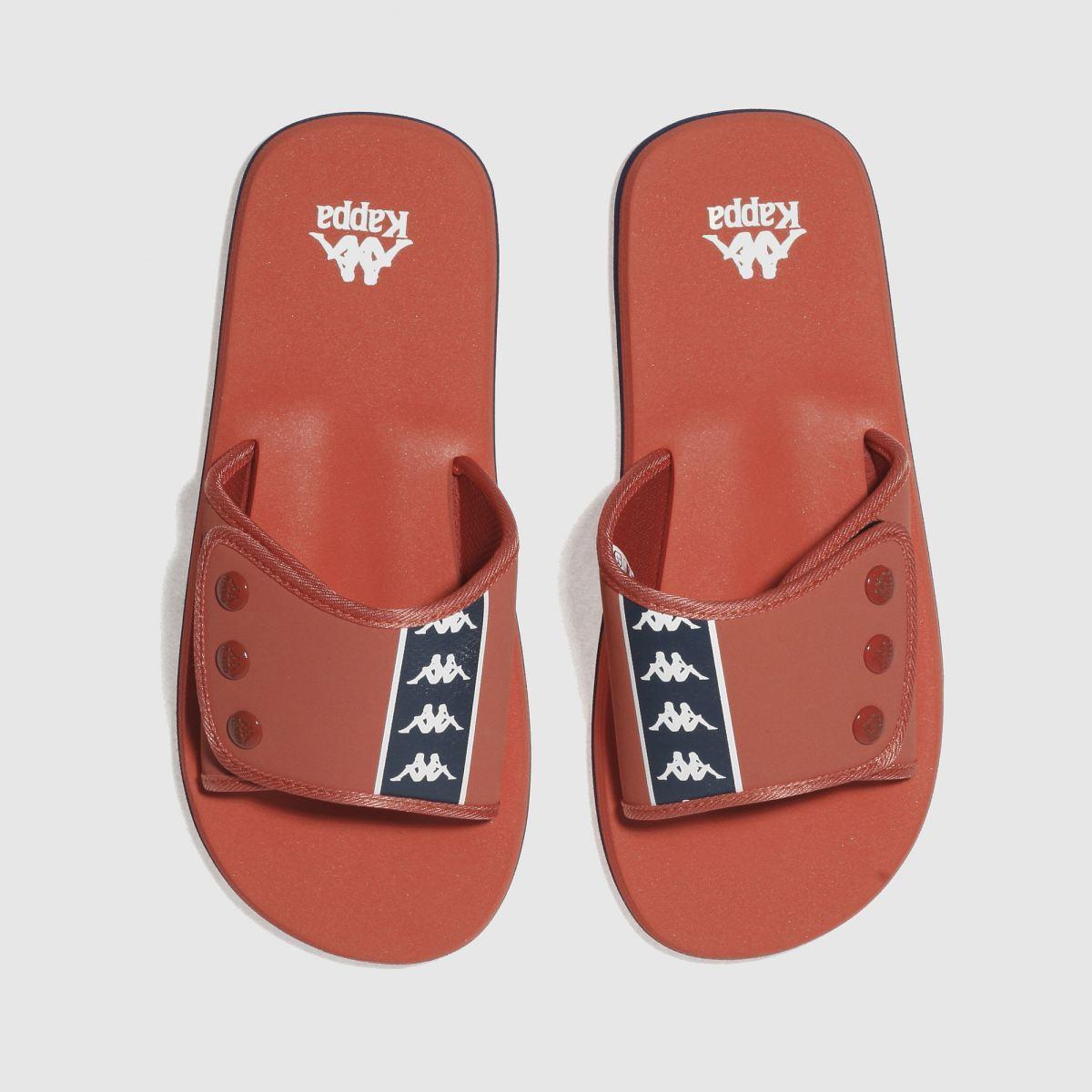 Kappa Red Orange Lapush 1 Authentic Sandals