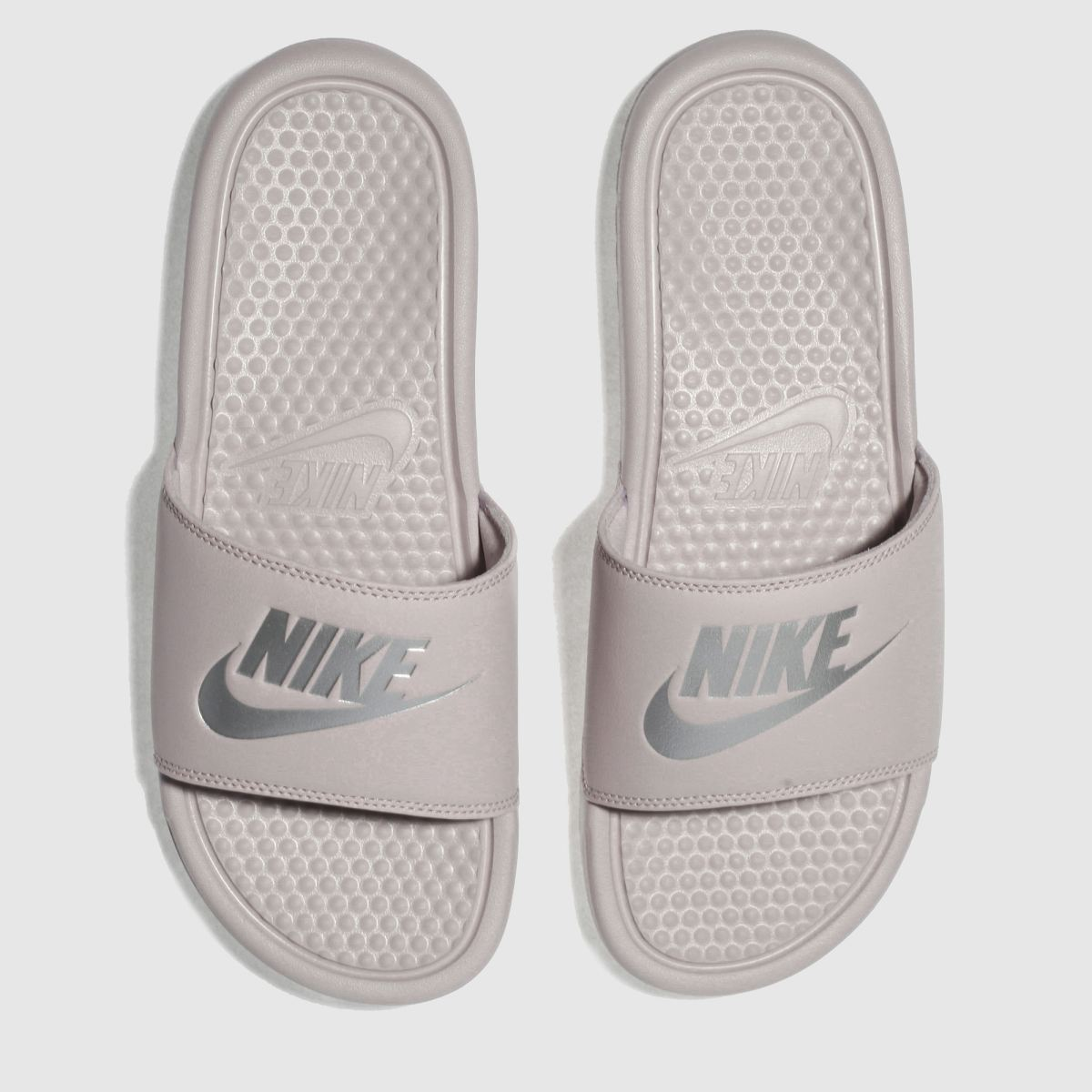 Nike Mauve Benassi Slide Sandals