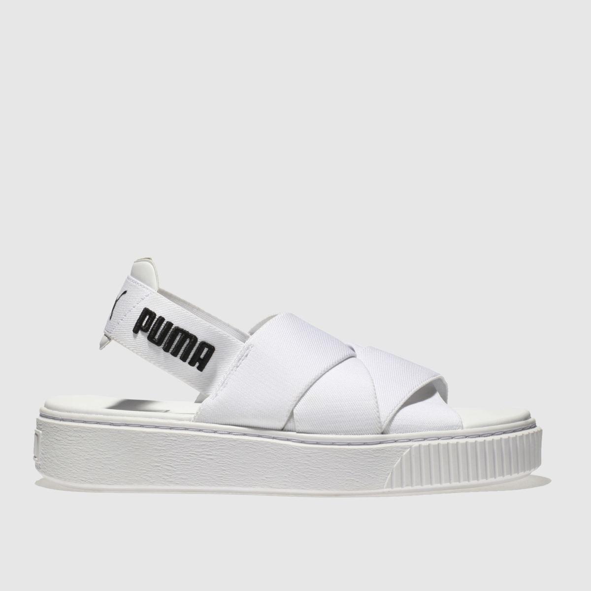 Puma White Platform Sandal Sandals