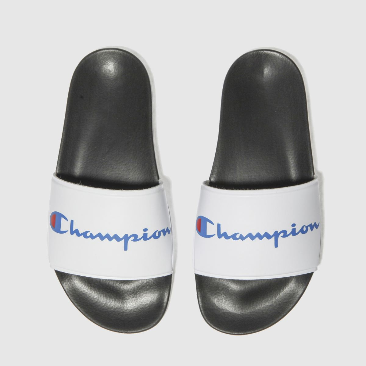 Champion Black & White Multi- Lido Printed Sandals