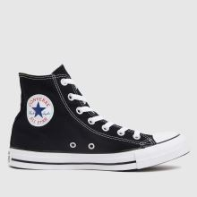 Converse Black & White All Star Hi Womens Trainers