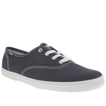 Keds Navy & White Champion Lace Trainers