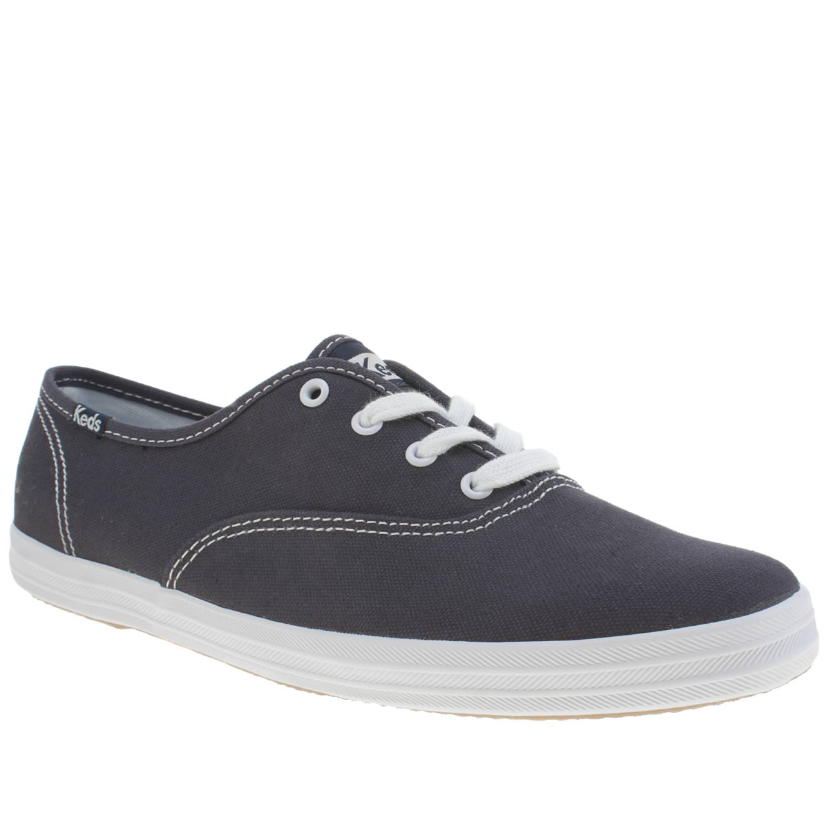 Keds Keds Navy & White Champion Lace Trainers