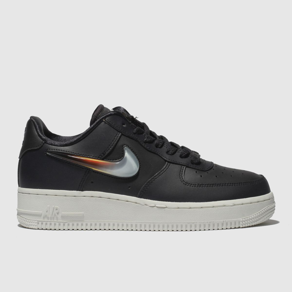 Nike Dark Grey Air Force 1 Premium Jelly Trainers