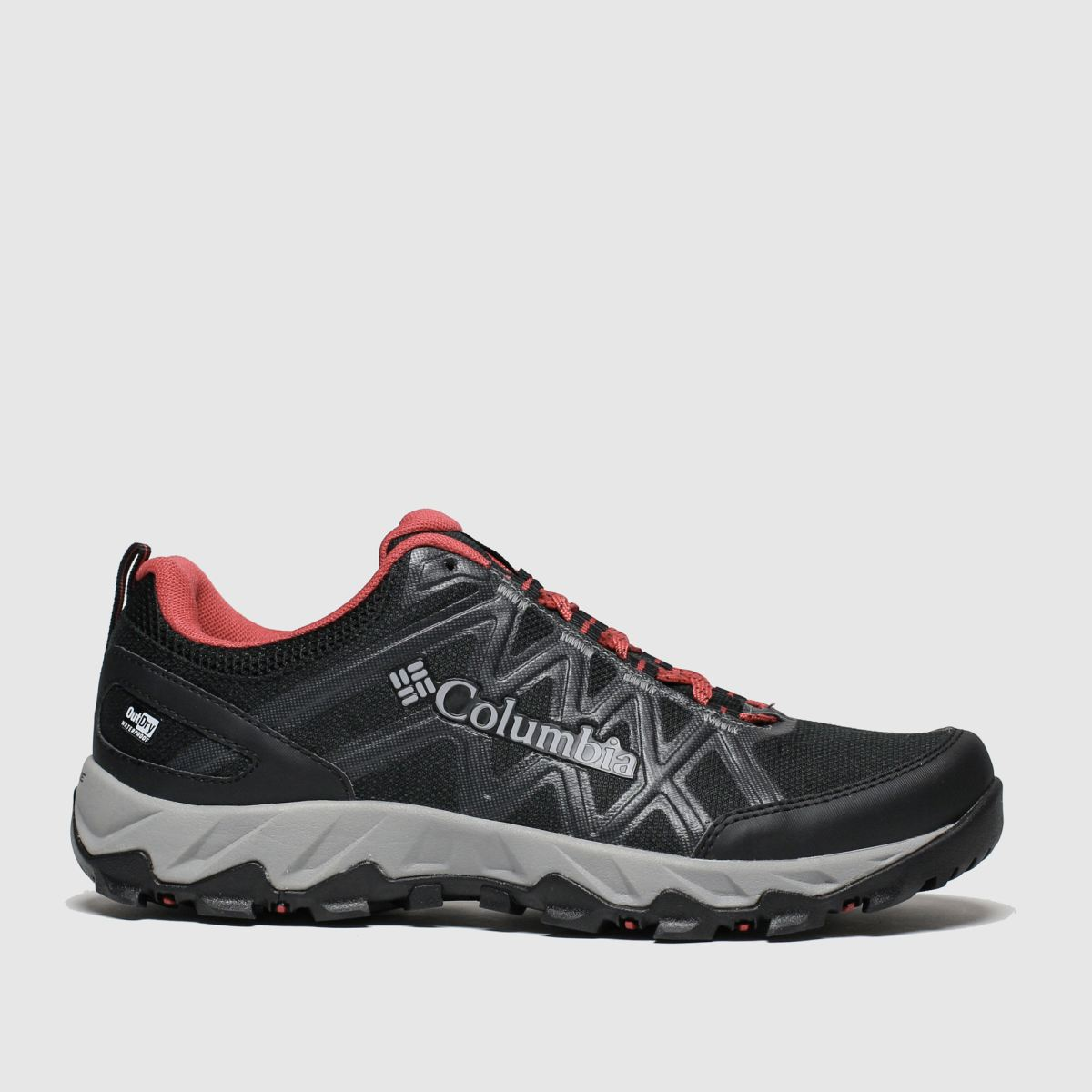 Columbia Columbia Black & Red Peakfreak X2 Trainers