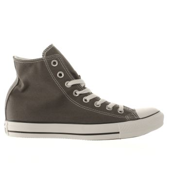 Womens Converse Dark Grey All Star Speciality Hi Trainers