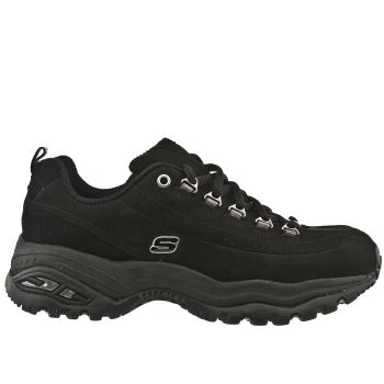 Womens Skechers Black E3 Premium Trainers