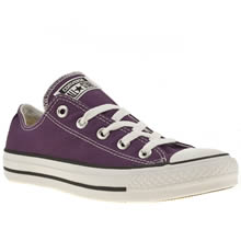 Purple Converse All Star Oxford Purple