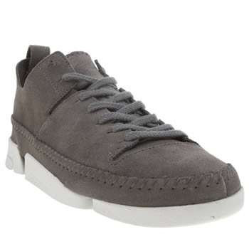 Clarks Originals Dark Grey Trigenic Flex Trainers