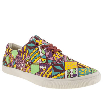 womens bucketfeet multi barca lace trainers