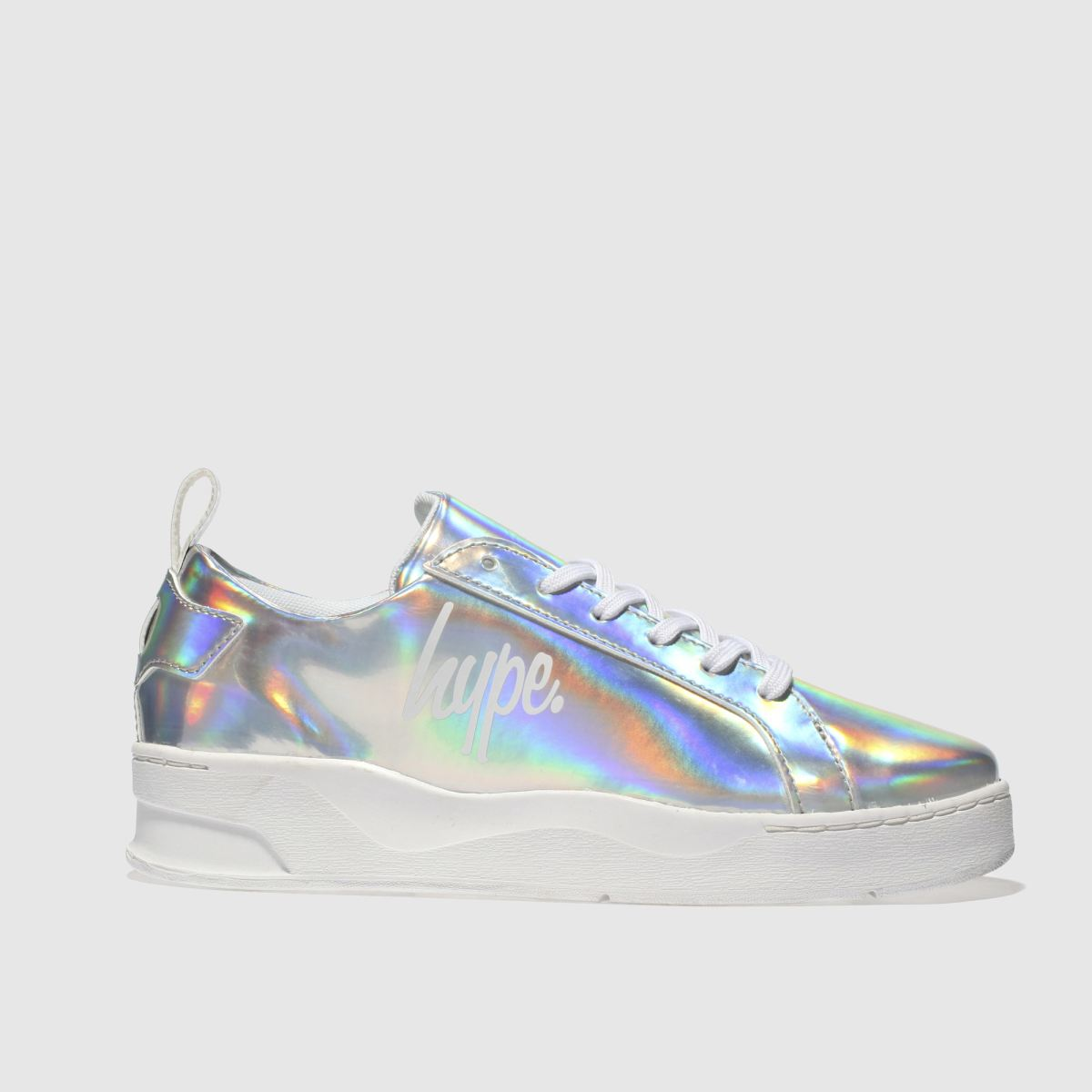 Hype Silver Hologram Reef Trainer Trainers