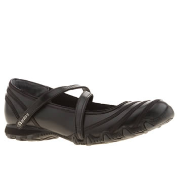 Skechers Black Bikers Ribboneer Trainers