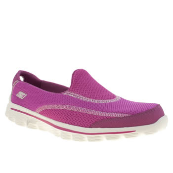 Skechers Pink Gowalk 2 Trainers