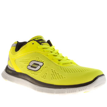Skechers Yellow Flex Appeal Love Your Style Trainers