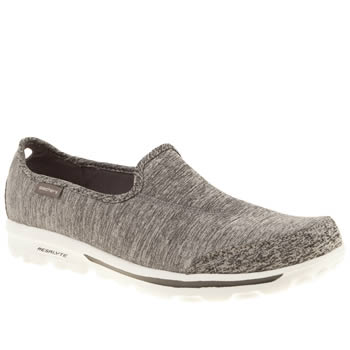 Skechers Grey Go Walk Interval Trainers