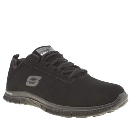 skechers flex appeal black jack 1