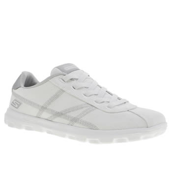 Skechers White On The Go Classic Trainers
