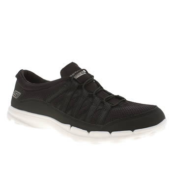 Skechers Black & White Skech Go Sleek Trainers