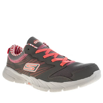 Skechers Dark Grey Go Fit Trainers