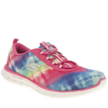 Skechers Multi Glider Psychedelic Trainers