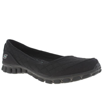 Skechers Black Ez 2 Spruced Up Trainers