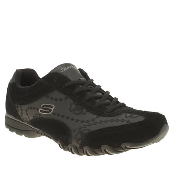 Skechers Black Speedsters Trainers