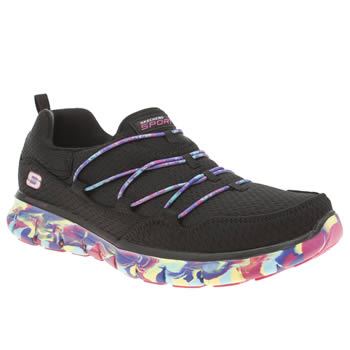 Skechers Black Synergy Inner Peace Trainers