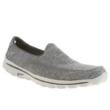 Skechers Grey Go Walk 2 Circuit Trainers