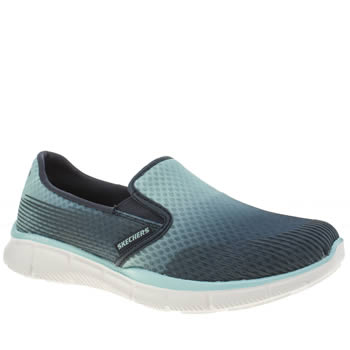Skechers Navy & Pl Blue Equalizer Space Out Trainers