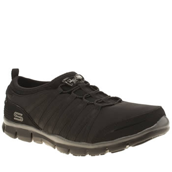 Skechers Black Gratis Shake It Off Trainers