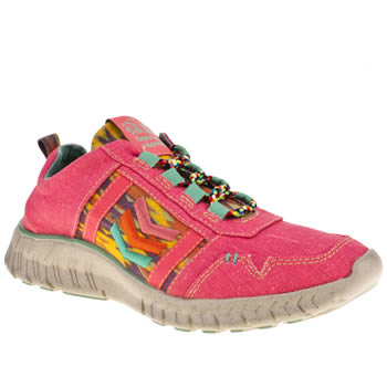 womens tigerbear republik pink wolfstar trainers