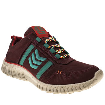 womens tigerbear republik burgundy wolfstar super trainers