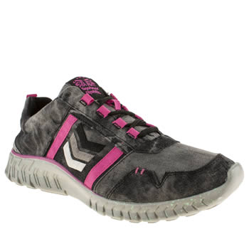 womens tigerbear republik black & white wolfstar mlkyway trainers
