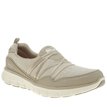 Skechers Natural Skech Synergy Scene Stealer Womens Trainers
