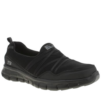 Skechers Black Synergy Scene Stealer Trainers