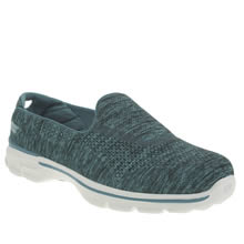 Skechers Blue Go Walk 3 Renew Trainers