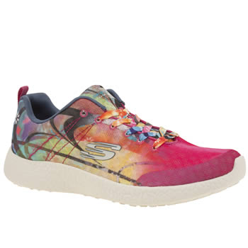 Skechers Multi Burst Life In Color Womens Trainers