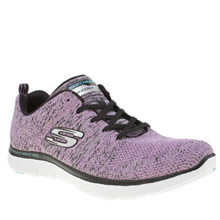 Skechers Lilac Flex Appeal 2.0 High Energy Trainers