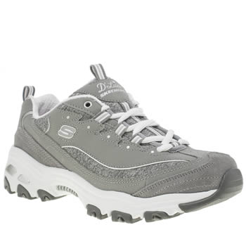 Skechers Grey Dlites Me Time Womens Trainers