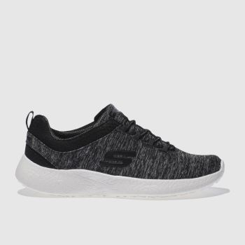 Skechers Black Skech Burst Equinox Womens Trainers
