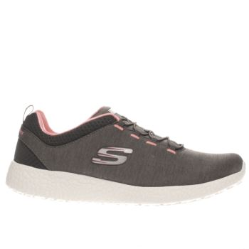 Skechers Dark Grey Burst Equinox Trainers