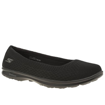 Skechers Black Go Step Primary Trainers