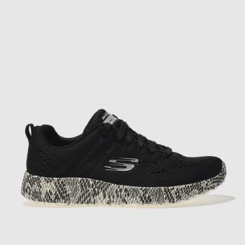 Skechers Black Burst Be Brave Womens Trainers