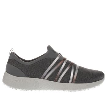 Skechers Grey Burst Alter Ego Womens Trainers