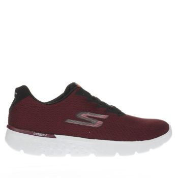 Skechers Burgundy Go Run 400 Womens Trainers