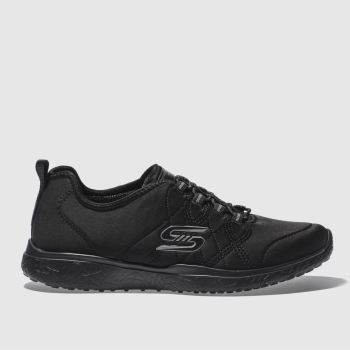 Skechers Black Microburst On-The-Edge Womens Trainers