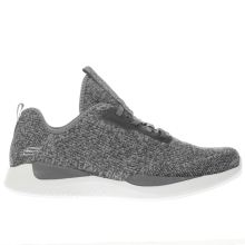 Skechers Dark Grey Matrixx Womens Trainers